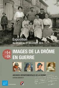 exposition sur la grande guerre aux archives départementales de la Drôme