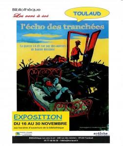 Exposition à Toulaud, la guerre 14-18 en bandes dessinées