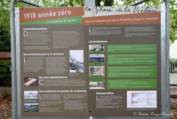 Commémoration du centenaire de l'Armistice de 1918 à Charpey, Saint-Vincent la Commanderie, Saint-Didier de Charpey