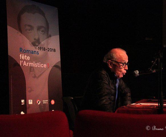 Conférences du CDH14-18 à Romans sur Isère, intervenants Guy Bichon, Alain Chaffel, Alain Coustaury